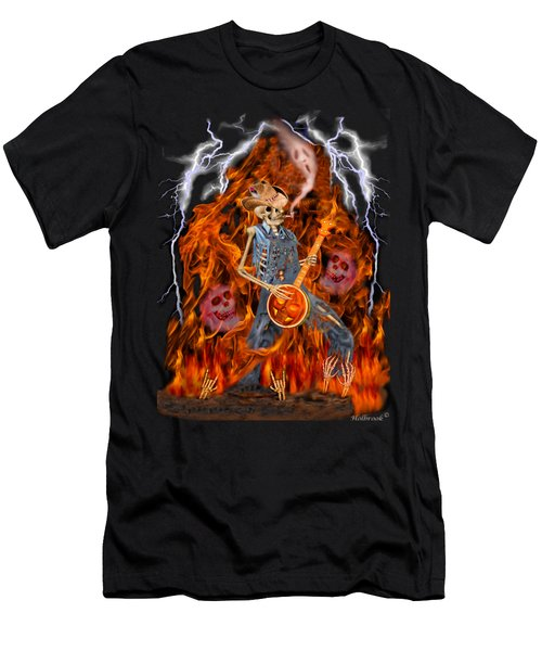 Playing With Fire Men's T-Shirt (Slim Fit) by Glenn Holbrook