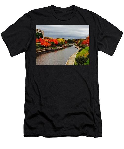 Plaza Colour Pop Men's T-Shirt (Athletic Fit)