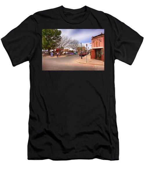 Plaza De Mesilla Men's T-Shirt (Athletic Fit)