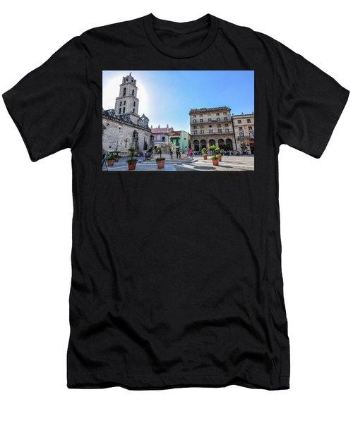 Plaza De San Francisco De Asis Men's T-Shirt (Athletic Fit)