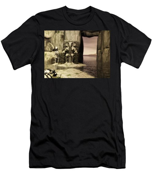 Plea Of The Penitent To The Lord Of Perdition Men's T-Shirt (Athletic Fit)