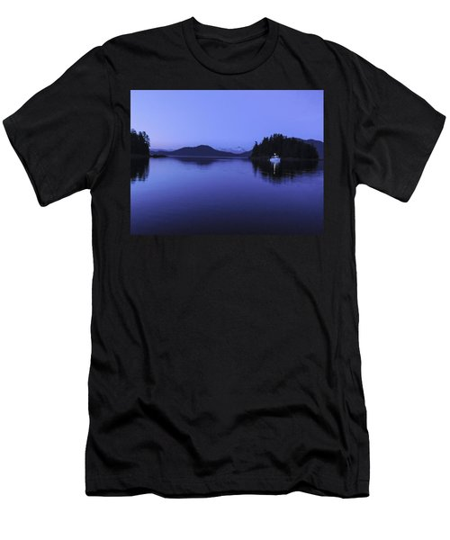 Pleasant Bay At Dusk Men's T-Shirt (Athletic Fit)