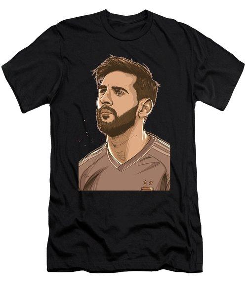 Please Do Not Go Lio Men's T-Shirt (Athletic Fit)