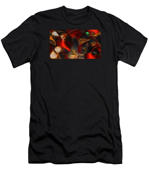 Pleasure Seeker Men's T-Shirt (Slim Fit) by Yul Olaivar