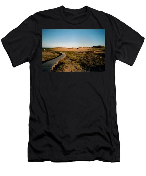 Plum Island Dunes Men's T-Shirt (Athletic Fit)