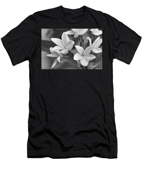 Plumeria Flowers Men's T-Shirt (Athletic Fit)
