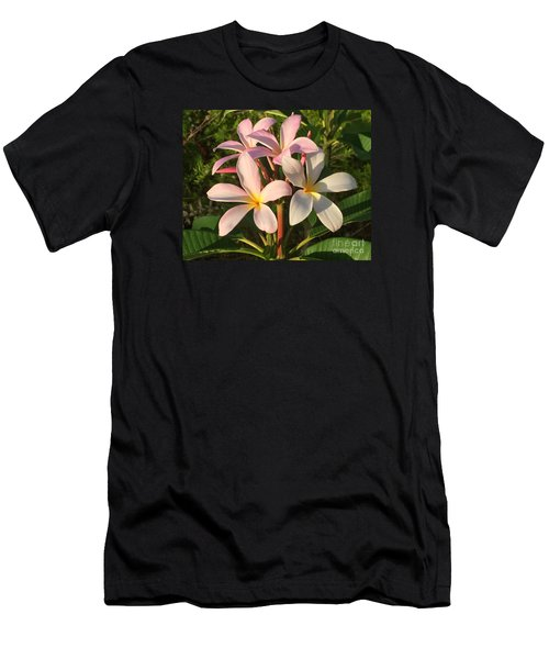 Plumeria Heaven Men's T-Shirt (Athletic Fit)