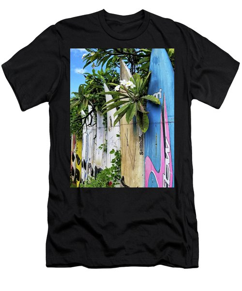 Plumeria Surf Boards Men's T-Shirt (Athletic Fit)