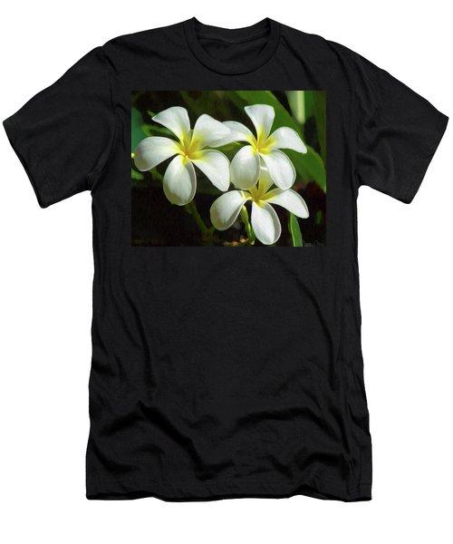 Plumeria Trio Men's T-Shirt (Athletic Fit)
