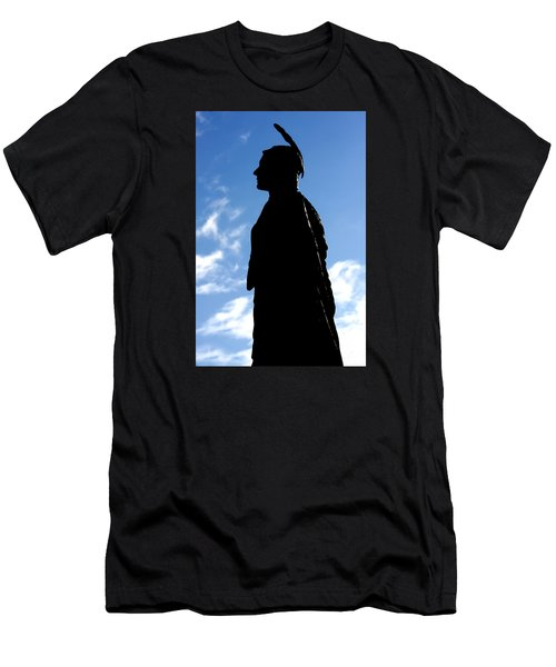 Men's T-Shirt (Athletic Fit) featuring the photograph Pocahontas by KG Thienemann