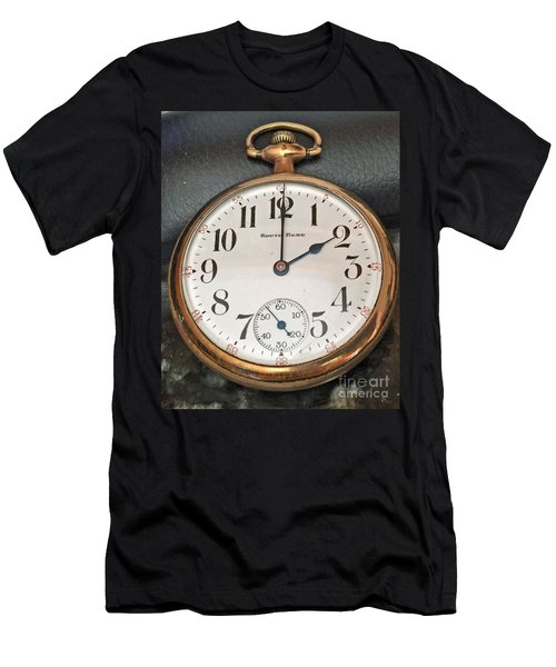 Pocket Watch Men's T-Shirt (Athletic Fit)