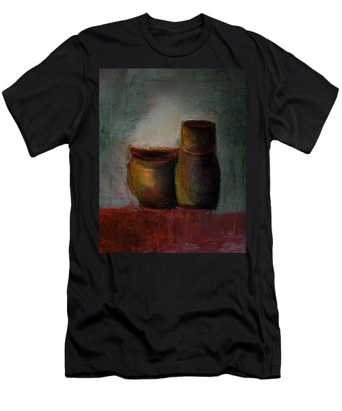 Poetry Of Pottery Men's T-Shirt (Athletic Fit)