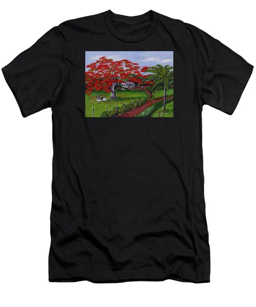 Poinciana Blvd Men's T-Shirt (Athletic Fit)