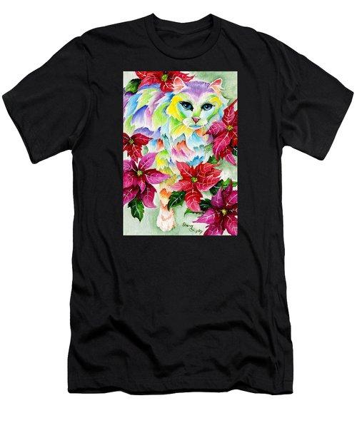 Poinsettia Sweetheart Men's T-Shirt (Athletic Fit)