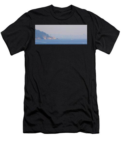 Point Atkinson Haze Men's T-Shirt (Athletic Fit)
