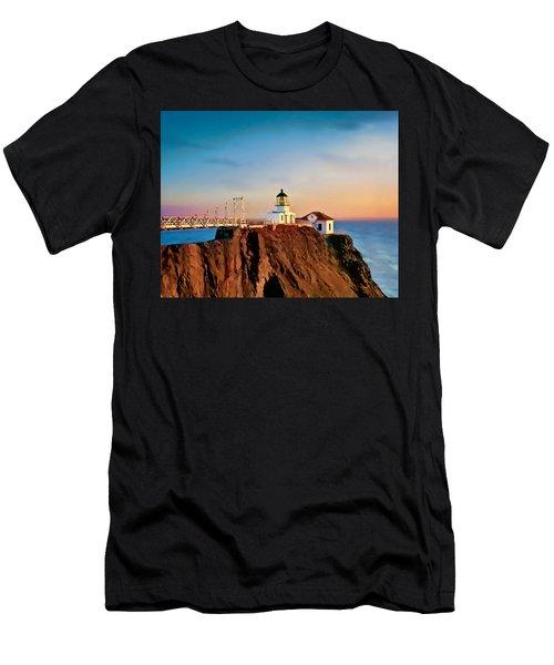 Point Bonita Lighthouse Men's T-Shirt (Athletic Fit)