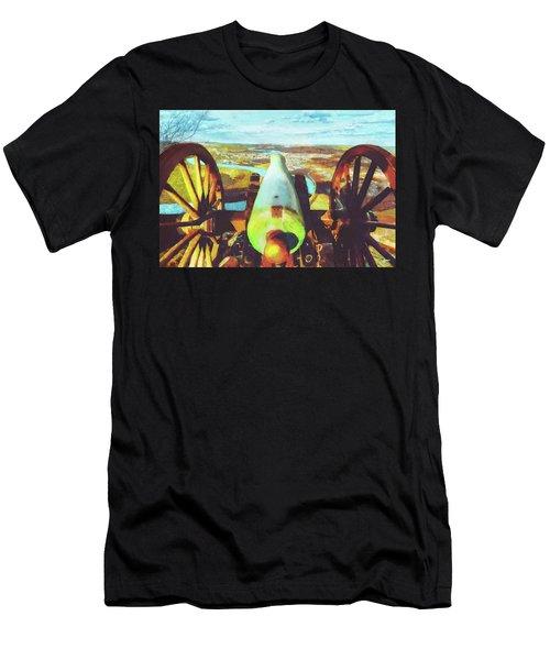 Point Park Cannon Men's T-Shirt (Athletic Fit)