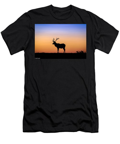 Point Reyes Elk Men's T-Shirt (Athletic Fit)
