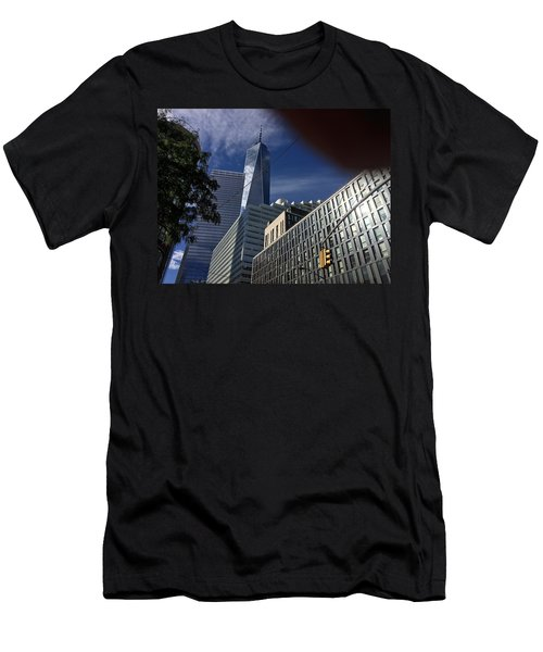 Pointing Towards The Sky Men's T-Shirt (Athletic Fit)