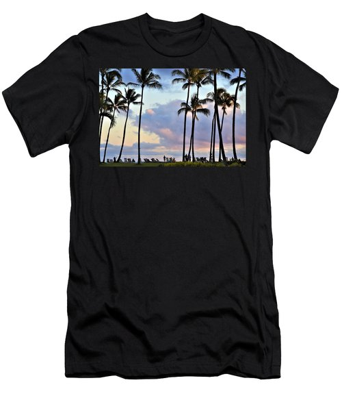 Poipu Beach Men's T-Shirt (Athletic Fit)