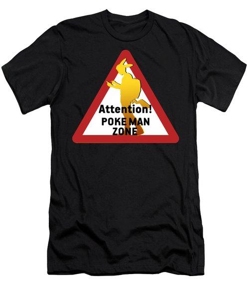 Pokeman Road Signage 2 Men's T-Shirt (Athletic Fit)