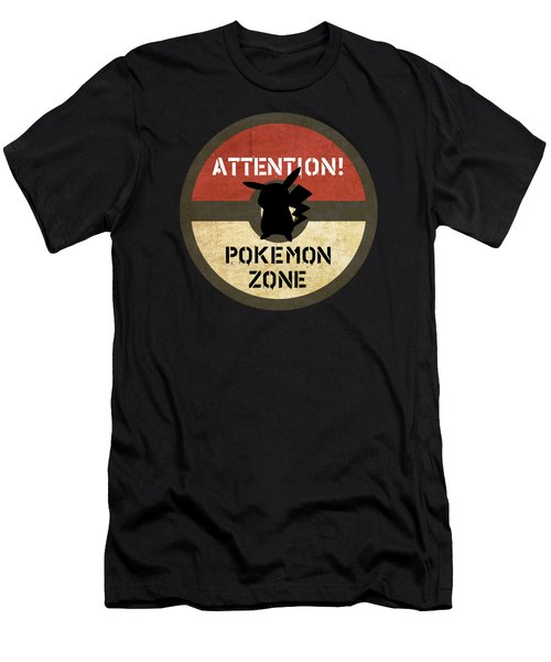 Pokemon Zone 3 Men's T-Shirt (Athletic Fit)