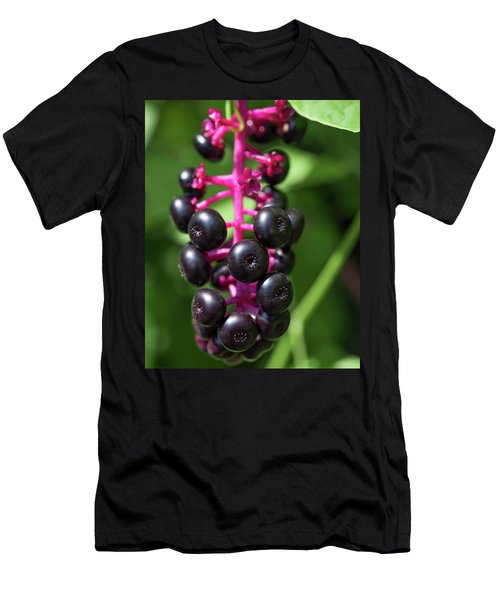 Pokeweed Cluster Men's T-Shirt (Athletic Fit)