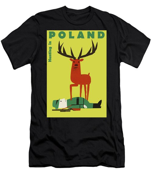 Poland, Hunting Season Men's T-Shirt (Athletic Fit)