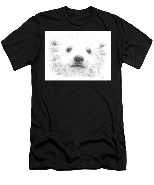 Polar Bear Cub Men's T-Shirt (Athletic Fit)