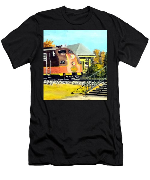 Polar Express Men's T-Shirt (Slim Fit) by Jim Phillips