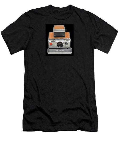 Polaroid Sx-70 Land Camera Men's T-Shirt (Athletic Fit)