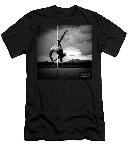 Pole Dance 1 Men's T-Shirt (Athletic Fit)