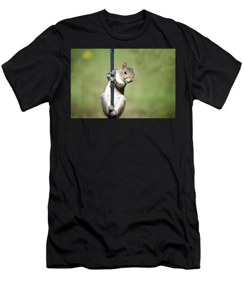 Men's T-Shirt (Athletic Fit) featuring the photograph Pole Dancer 283 by Ericamaxine Price