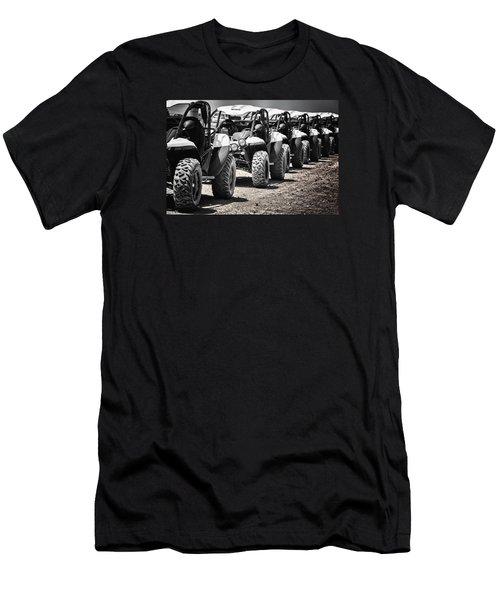 Men's T-Shirt (Slim Fit) featuring the photograph Pole Position by Edgar Laureano