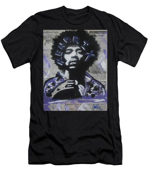 Political Jimi Men's T-Shirt (Athletic Fit)