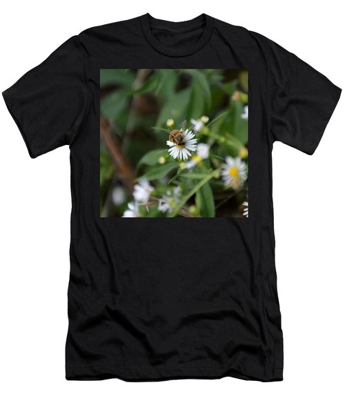 Men's T-Shirt (Athletic Fit) featuring the photograph Pollinatin' by W And F Kreations