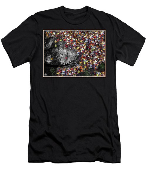 Men's T-Shirt (Athletic Fit) featuring the photograph Pollacks Pool by Wayne King