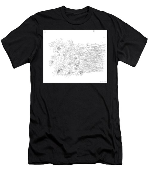 Polymer Fiber Spinning Men's T-Shirt (Athletic Fit)