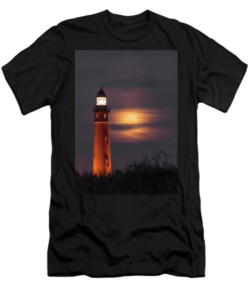 Ponce De Leon Full Moon Men's T-Shirt (Athletic Fit)