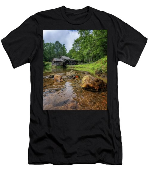 Pond At Mabry Mill Men's T-Shirt (Athletic Fit)