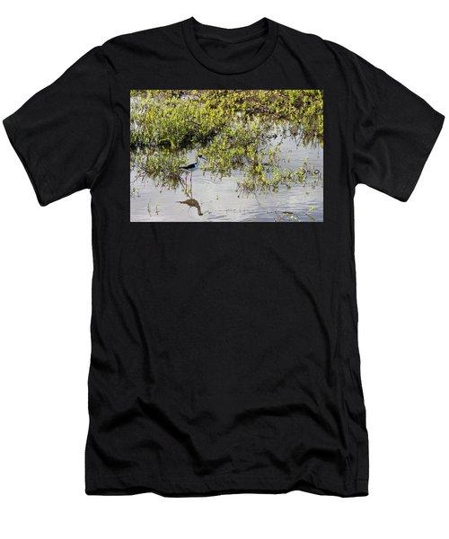 Pond Birdie Men's T-Shirt (Athletic Fit)