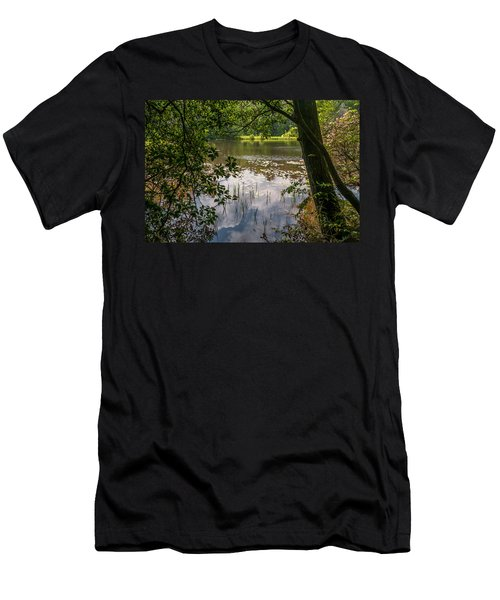 Pond In Spring Men's T-Shirt (Athletic Fit)