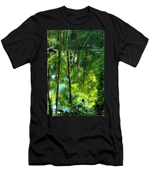 Pond On Gabrielino Trail Men's T-Shirt (Athletic Fit)