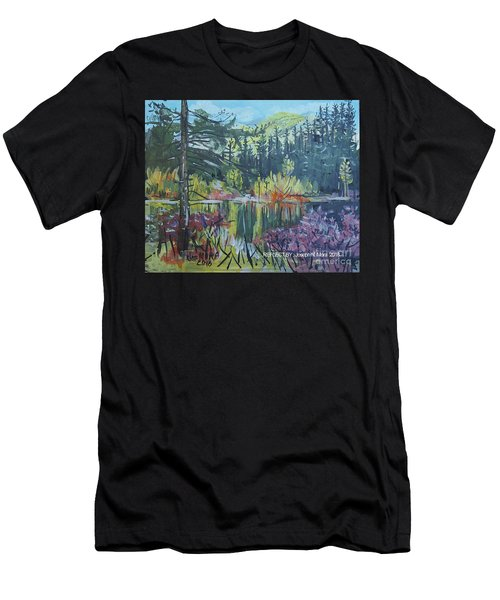 Pond Reflections Men's T-Shirt (Athletic Fit)