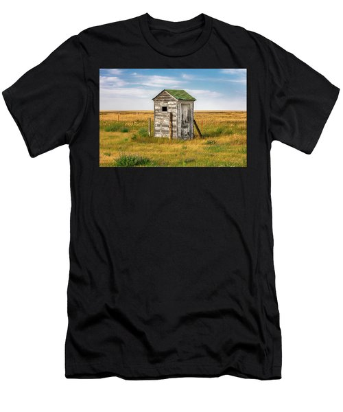 Pendroy Outhouse Men's T-Shirt (Athletic Fit)
