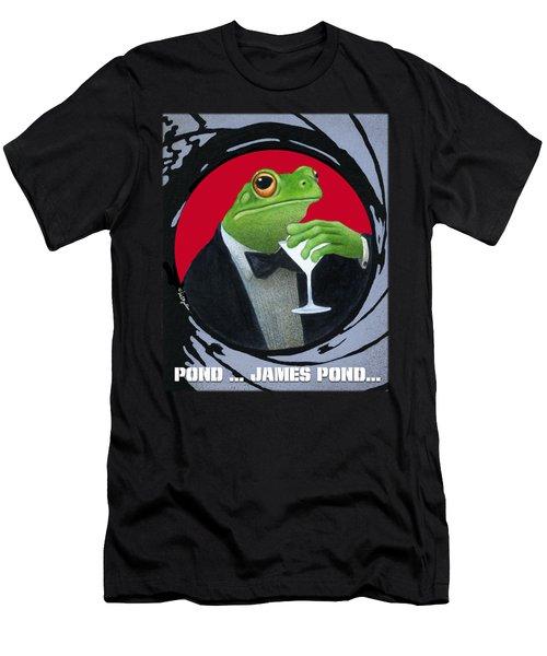 Pond...james Pond... Men's T-Shirt (Athletic Fit)