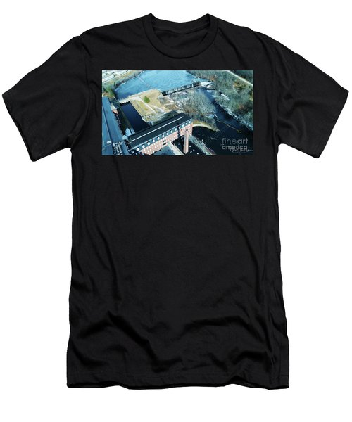 Ponemah Mill And Dam Men's T-Shirt (Athletic Fit)