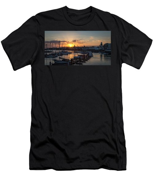Ponta Delgada Sunset Men's T-Shirt (Athletic Fit)