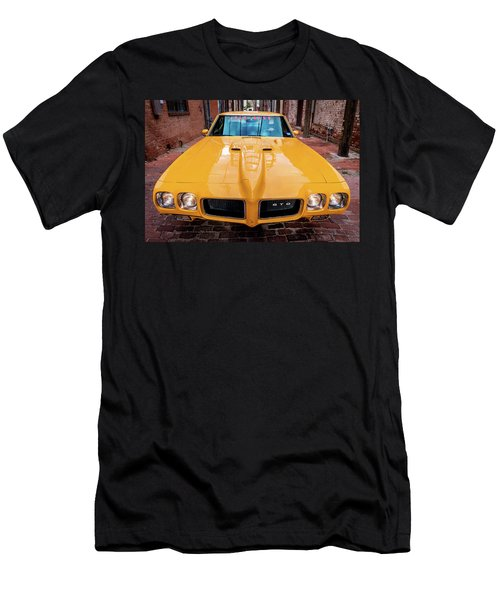 Pontiac Muscle Men's T-Shirt (Athletic Fit)