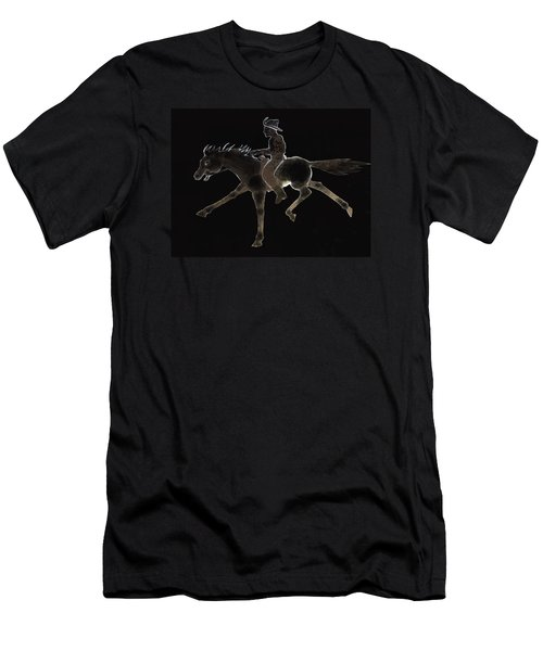 Pony Express Men's T-Shirt (Athletic Fit)